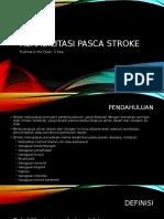 Rehabilitasi Pasien Stroke
