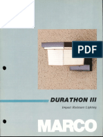 Marco Durathon III Catalog 1986