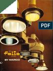 Marco Folio Recessed Specification Lighting Catalog 1978