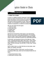 US Tsubaki Chain Manual