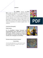 El Más Famoso Del Futbol Guatemalteco
