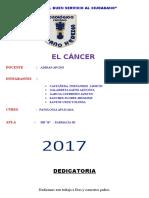 Monografia El Cancer