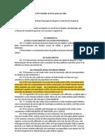Plano Diretor PM Alegrete