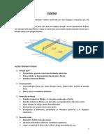 Relatório Voleibol