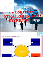 Promotion Strategies and Advertising