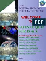 Quiz2009 Final