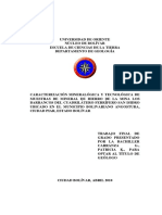 034-Tesis-Caracterizacion Mineralogica y Tecnologica de Muestras de Minerales
