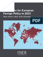 Challenges for European Foreign Policy 2015