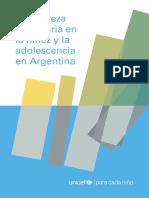 La Pobreza Monetaria en La Niñez y Adolescencia 2017