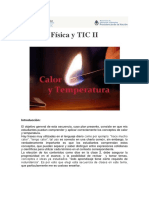 Física y TIC II Calor y Temperatura