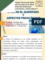 Ética en El Quirófano y Aspectos Psicológicos