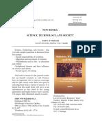 Fathi Habashi Science, Technology, And Society