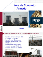 Treinamento de Estrutura de Concreto Armado - Agosto-09