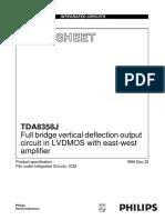 datasheet TDA8358J.pdf