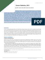 Siegel Et Al-2015-CA a Cancer Journal for Clinicians