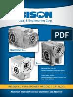 BISON Integral Horsepower Product Catalog