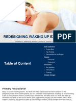 Redesigning the waking up experience