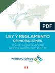 Ley Migraciones y Reglamento