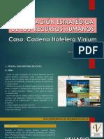 Caso Cadena Hotelera Vinium