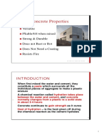 CM-Properties of Concrete