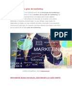 5 Modelos de Un Plan de Marketing