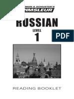 Pimsleur Russian1-Bklt_2015