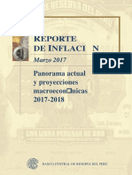Reporte de Inflacion Marzo 2017