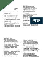 Canciones Indigenas