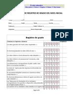 Suprervision de Registro de Grado Del Nivel Inicial