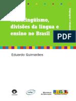 Multilinguismo, divisões da Língua e ensino no Brasil - Eduardo Guimarães.pdf