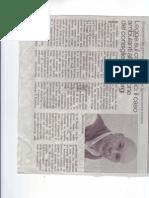"""Articolo Di Giorgi Luglio """"Giornale La Provincia Latina 30/07/2010"""