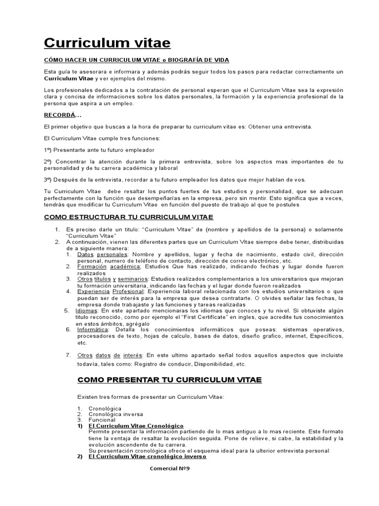 Atractivo Currículos Para Cambiadores De Carrera Bosquejo - Ejemplo ...