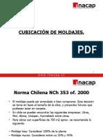 CUBICACIÃ-N DE MOLDAJES