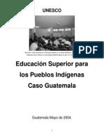 Informe Indígenas - GUATEMALA