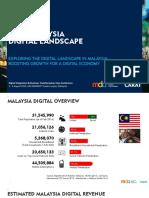 Malaysia Digital Landscape August 2016