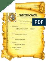 Informe 9 Quilibrio Liquido Vapor en Proceso