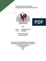 Laporan Hasil Seminar Enterprenuership