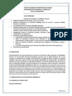 Guia de Aprendizaje Analisis Financiero