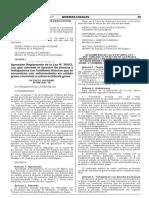 Decreto Supremo Nº 008-2017-TR