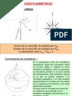 Métodos Planimétricos