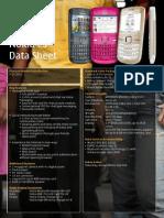 Nokia C3 Datasheet