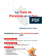 Trata de Personas en El Perú