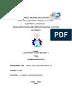 Informe de Lab Mecanica 2