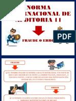 Fraude y Error