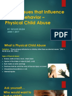 physical child abuse presentation