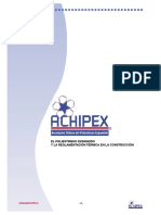 Manual Achipex Construccion