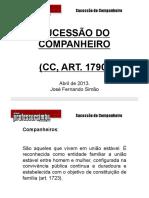 Professor Simão Sucessao Do Companheiro Art1790