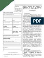 Decreto Supremo Nº 009-2017-TR
