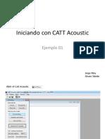 Iniciando Con CATT Acoustic Parte 1