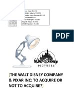 IBS - Answers to Disney Pixar Case